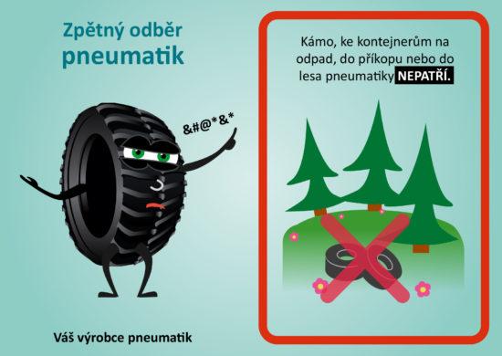 Zpětný odběr pneumatik NEPATŘÍ